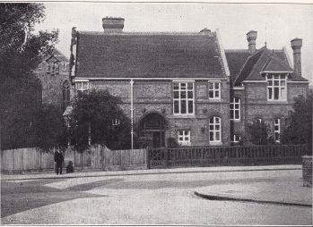 St Benet and All Saints, Kentish Town, London. the vicarage, c.1930, since demoilished. [Source: 'In jubilaeo' (London: 1935)]