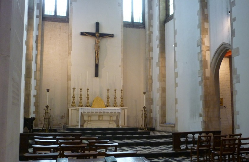 St Benet's Kentish Town, the chancel.