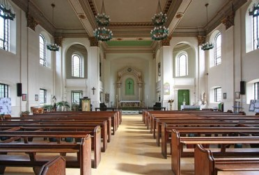 All Saints, Poplar (1823) interior looking east c.2000