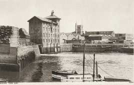 Barking mill, Barking quay, late c19