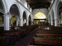 St Margaret's, Barking, the nave