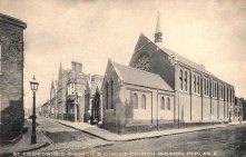 St Frideswide parish church and Christ Church Mission, c.1912