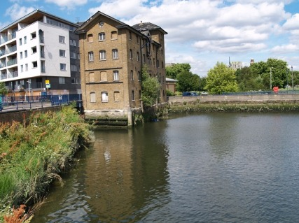 Barking mill, Barking quay, c2015