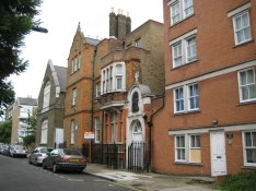 St Frideswide's Mission House (1893), Lodore Street, E14, c.2015