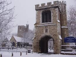 Barking Abbey, gateway and St Maragret's church