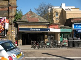 Earlsfield Station, street level, c.2015