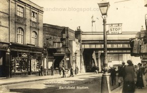 Earlsfield Station, street level, early c.20