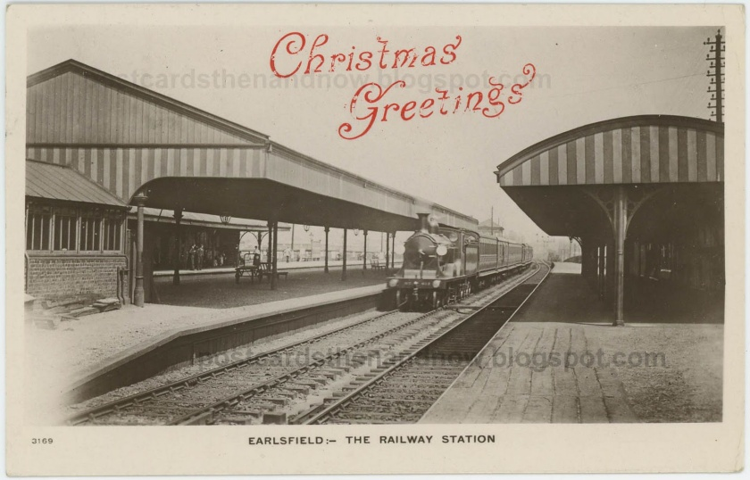 Earlsfield Station, platform level, early c.20