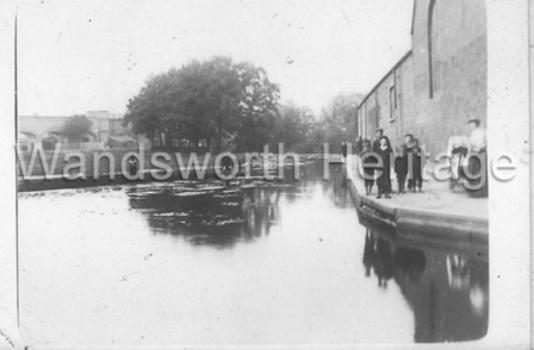 Garratt Lane Mill, c.1905
