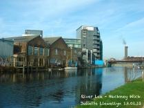 Hackney Wick canalside, 2012