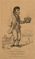 """Sir"" Harry Dimsdale, a muffin seller elected as the final Mayor of Garrat in 1796"