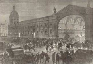 Smithfield Market buildings, late c.19.