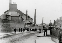 Berger paint factory, Hackney Wick, London c1900