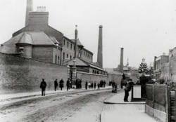 Berger paint factory, Hackney Wick, London c1900