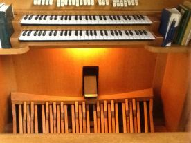 St John the Divine, Earlsfield, pipe organ by Osmond of Taunton, c.2016