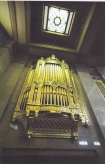 Part of the organ (1933) built by Henry Willis and Sons Ltd. in the Grand Temple at Freemasons Hall, London. Rebuilt and restored (2016) by Harrison and Harrison Ltd.