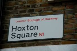 Hoxton Square, street sign