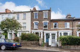 Typical houses in St Thomas Road, London N4 c.2015