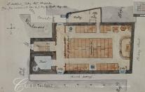 Anon. 'Plan of St Matthew, Friday Street' (1882). Source: London Metropolitan Archive q7706660