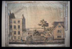 Richard Cuming 'A view at Walworth' (1779)