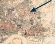 Charles Booth's Poverty Map of Bow (1888-9)