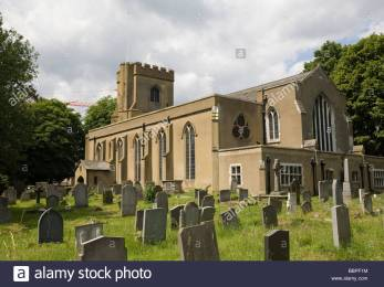 St Mary's church, Walthamstow, London