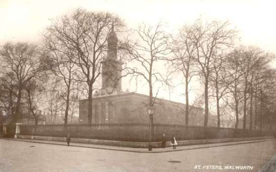 St Peter's Church, Liverpool Gardens, Walworth, c.1905