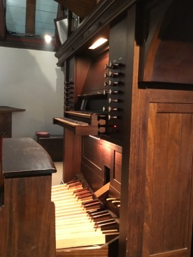 Pipe organ in the west gallery, St Mary's Willesden. ©Andrew Pink 2016