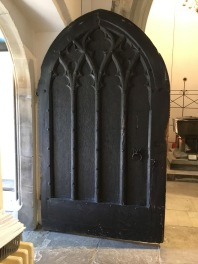 Fourteenth-century south-porch door at St Mary's church Willsesden. ©Andrew Pink 2016