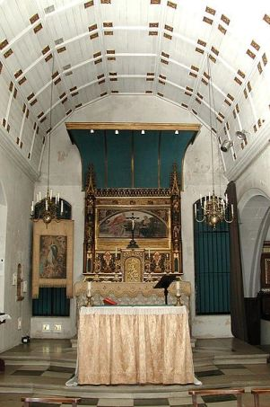 The Lady Chapel, 2002, in the church of St Augustine of Canterbury, Highgate, London (UK). (Source: John Salmon, Wikimedia)