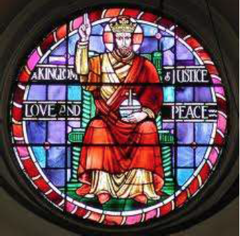 Stained glass by Margaret A. Rope in the church of St Augustine of Canterbury, Highgate, London (UK). (Source: Paul Bell, 2012)