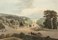 Junction of Highgate Hill and Archway Road (John Hill, 1770-1850)