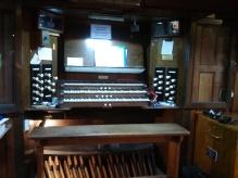 St Andrew Earlsfield, London UK, the organ (1921) by Harrison & Harrison of Durham, UK, 2017.