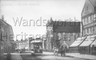 St Andrew Earlsfield, c.1900; view along Garratt Lane looking towards Earlsfield Station. Source: Wandsworth Libraries and Archives.
