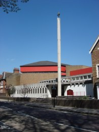 The church of St Paul the Apostle (1971), Wood Green, London N22. Source: Geograph