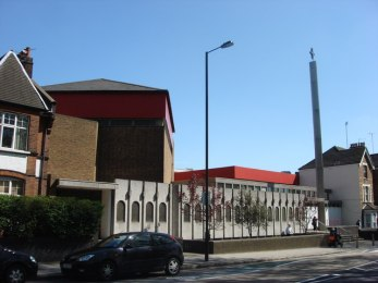 The church of St Paul the Apostle (1971), Wood Green, London N22. Source: Wikimedia Commons