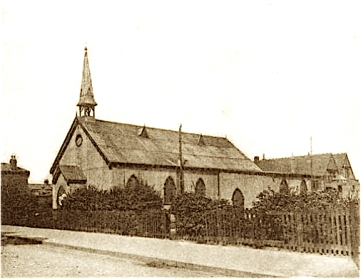 The first church of St Aldhelm, London N18, replaced 1903.