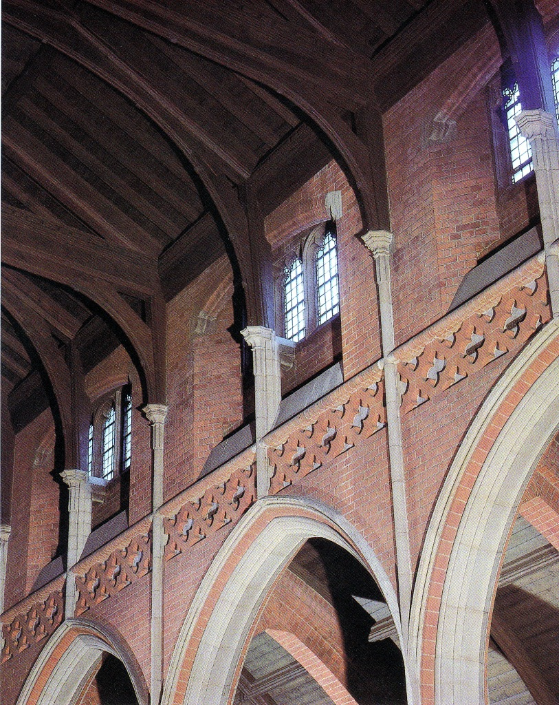 St Barnabas Walthamstow (1903) London E17, nave detail. (Source: Litten, 2003)