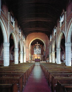 St Barnabas Walthamstow (1903) London E17, interior looking east. (Source: Litten, 2003)