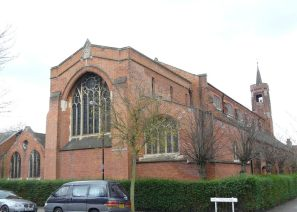 The west end of St Barnabas church (1903) Walthamstow E17 . (Source: http://queensroadstories.org)