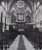 St Benet and All Saints, Kentish Town, London. high altar, c.1901-5. [Source: 'In jubilaeo' (London: 1935)]