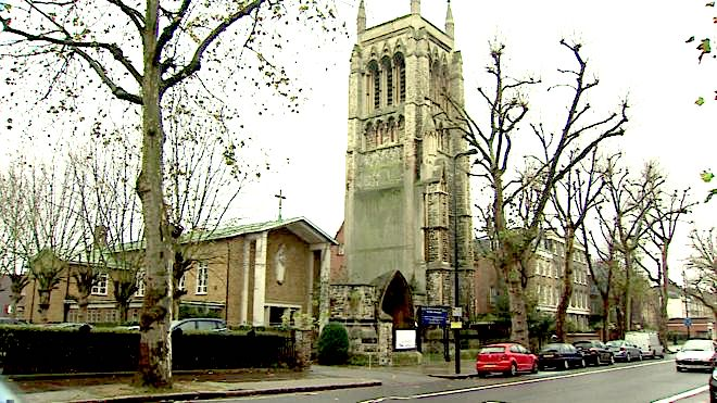 St Mary Newington Church, London (2018). [Source: BBC News https://www.bbc.co.uk/news/uk-35123921]
