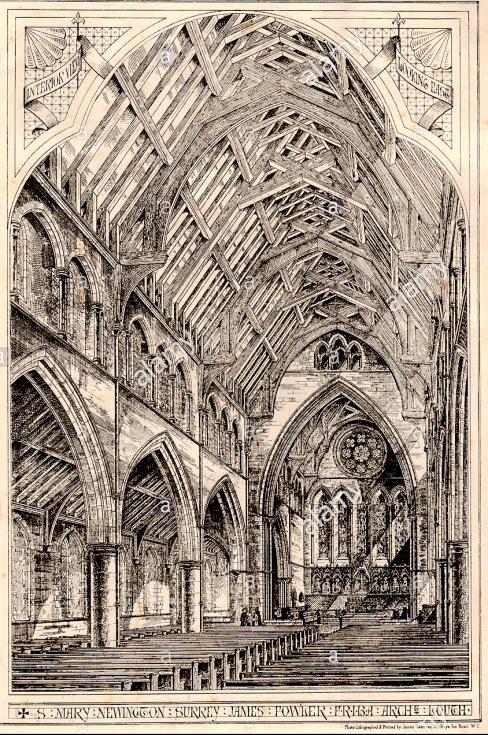 St. Mary Newington, Surrey; James Fowler FRIBA. Architect, Lough. London, 1875