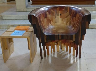 St Mary Newington, London. President's chair. 2018. [Source: ttps://londonchurchbuildings.com]