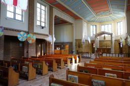 St Mary Newington, London. Interior looking west, 2018. [Source: ttps://londonchurchbuildings.com]