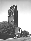 The east end of the church of St Matthias Stoke Newington N 16, c.1940. Source: RIBA48762