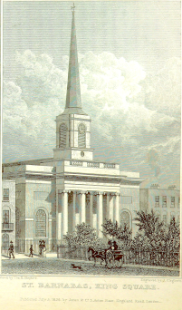 St Barnabas (St Clement) King Square (1828)