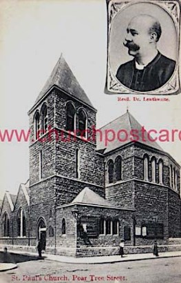 The former St Paul's Church, Pear Tree Street LCE022