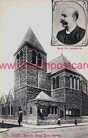 The former St Paul's Church, Pear Tree Street LCE022
