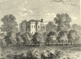 Engraving of Elm Lodge